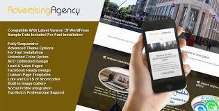 advertising agency wordpress theme http wpmania net store shop