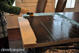 cheap bathroom countertop ideas 10 diy wood countertop cleverly inspired we did this for our