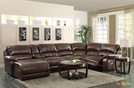 living room elegant ideas of leather sectional sofas with
