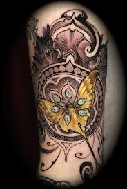 13 forearm skeleton key tattoos