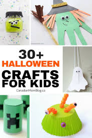 30 halloween crafts and activities for kids canadian mom blog