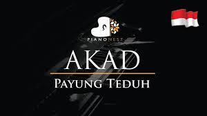 download mp3 akad versi jawa payung teduh akad indonesian song piano karaoke sing along