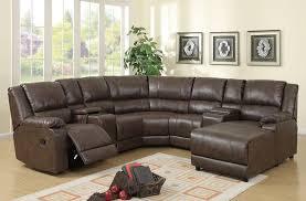 u shaped leather sectional