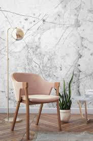 Stone Wall Mural Marbled Stone Textured Wall Mural Pink Marble Timeless Design