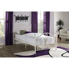 bed frames metal headboard and footboard twin xl bed frame