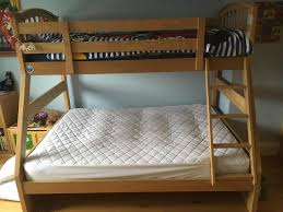 Double Bunk Bed With Single On Top Second Hand Beds And Bedding - Second hand bunk bed