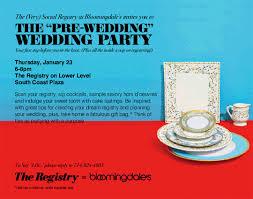 bloomingdale bridal gift registry ceremony magazine wedding gift registry archives ceremony