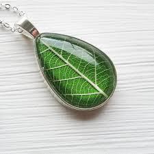 real leaf necklace images Real leaf necklaces winter garden studios jpg