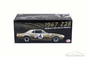 1967 camaro diecast 1964 chevy camaro z28 gold acme 1805703 1 18 scale diecast