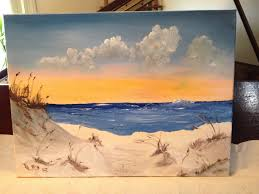 leonard parker artwork ft walton beach sand dunes original painting oil landscape art