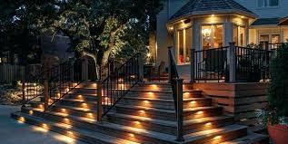 lighting around pool deck landscape deck ideas deck lighting step lights landscape lighting