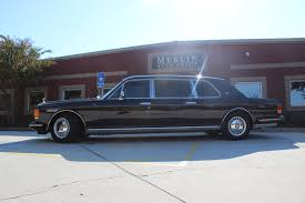 bentley mulliner limousine used 1993 rolls royce silver spur ii touring limousine stock p3012