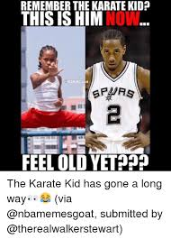 Karate Meme - remember the karate kid this is him nbamemesgoat feel old yet