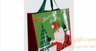christmas shopping bags tote bags hot sale gift