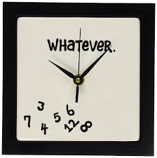 amazon com whatever wall clock home u0026 kitchen