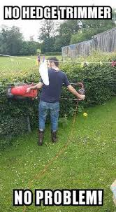 Lawn Mower Meme - video zero fu s given by this irish lad using a lawnmower to