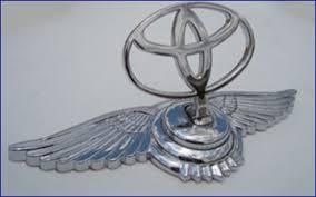 toyota logo vog chrome bentley style ornament