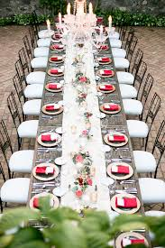 Long Table Centerpieces Wedding Table Decor The Personal Touch Wedding Blog