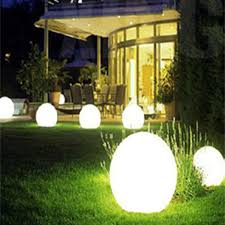 solar pmma globe party lights outdoor table lights lawn garden