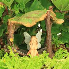 fairy bed four poster fairy bed fairy garden accessory by jennifer