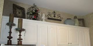 decorating above kitchen cabinets modern tags 99 unbelievable
