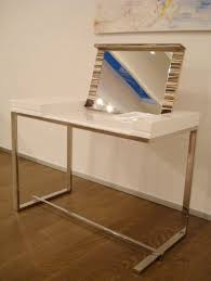 Modern White Office Table Modern White Dressing Table U2013 Melina By Sabinoaprile Digsdigs