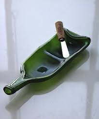 wine bottle serving dish look at this zulilyfind blue wine bottle serving dish spreader
