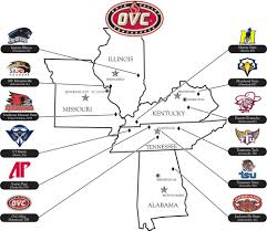 Ohio Valley Map by Swac Invites Tennessee State To Join Page 5