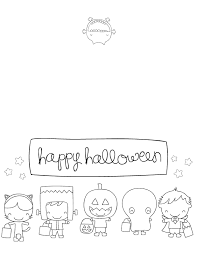 Printable Halloween Cards by Halloween Cards To Color U2013 Fun For Halloween