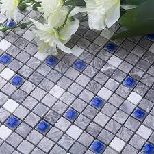 Mosaic Floor L Marble Blue Flooring Readysetgrow Org