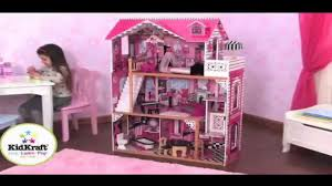 kidkraft amelia dollhouse w furniture 65093 youtube