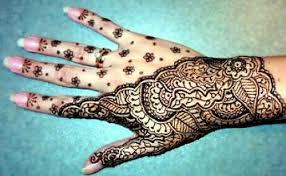 free henna tattoo designs with fancy flower style tattoo design