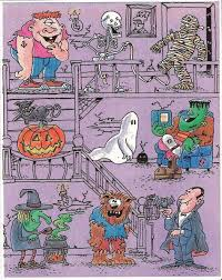 halloween stickers branded in the 80s page 2