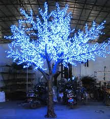 outdoor led lights for trees with high artificial cherry tree