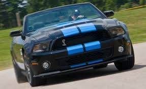 2010 ford mustang shelby gt500 convertible u2013 instrumented test