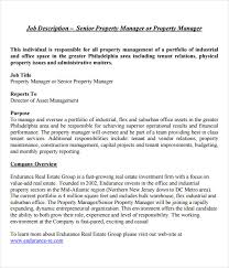 Property Management Resume Examples by Property Manager Job Description Property Manager Resume Example