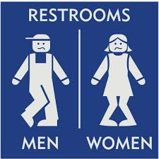 gender neutral photo of bathroom signs bathrooms remodeling