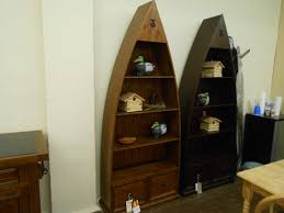 Canoe Bookcase Furniture Mountain Style Furniture Is Popular In Big Canoe