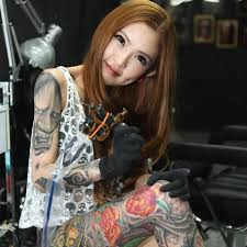 have you met her yet malaysian sexiest tattoo artist kinki