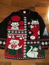mens cat sweater ebay