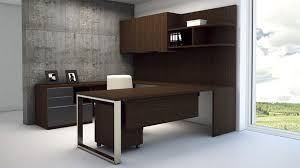 modern at two u shaped desk with multifile storage pedestal