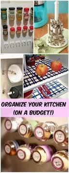 kitchen organization ideas budget 39 best home kitchen restyle on a budget images on