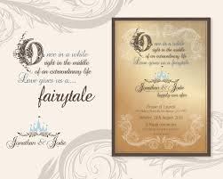 quotes for wedding invitation fairytale wedding invitations