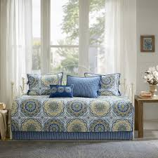 bed u0026 bedding bedford 5 piece daybed comforter sets in blue and