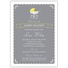 baby brunch invitations a vintage stroller neutral baby shower invitations paperstyle