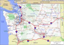 map of washington map of washington 4 jpg travel map vacations