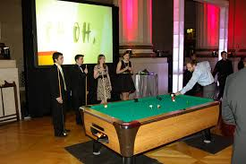 table rentals dc party planners in dc pool tables audio visual rentals in
