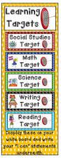 best 25 learning targets ideas on pinterest learning goals