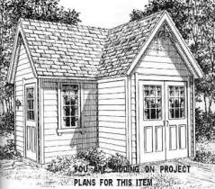 Potting Shed Plans 300 Best Shed Plans Cottages And Cabins And Dream Homes Images