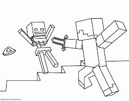 steve de minecraft para imprimir y pintar minecraft pinterest